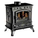 Clarke Richmond cast iron stove and wood burner