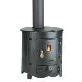 Clarke Barrel cast iron stove and wood burner