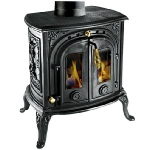 Clarke Junior Victoria cast iron stove and wood burner
