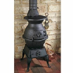 Clarke Majestic cast iron stove and wood burner