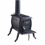 Clarke Boxwood Deluxe cast iron stove - wood burner