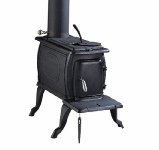 Clarke Boxwood cast iron stove and wood burner