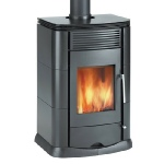 Clarke Mayfair cast iron stove and wood burner