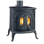 Clarke Victoria cast iron stove and wood burner